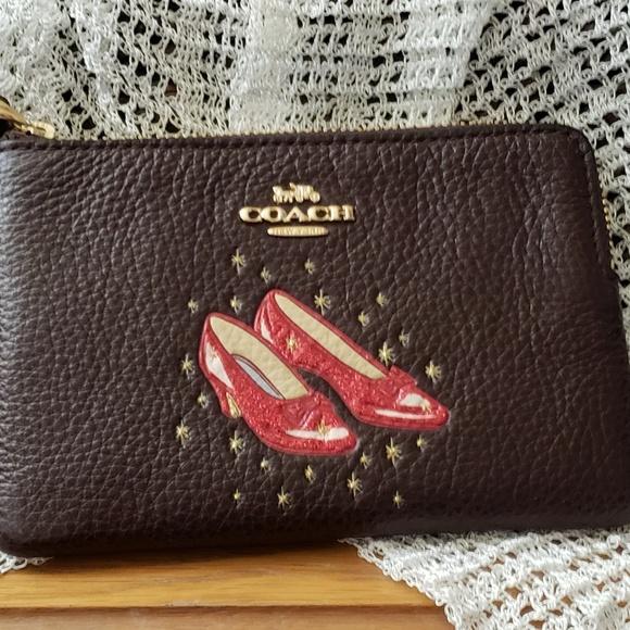 396b490705ef Coach Handbags - COACH Wizard of Oz Ruby Slipper Wristlet